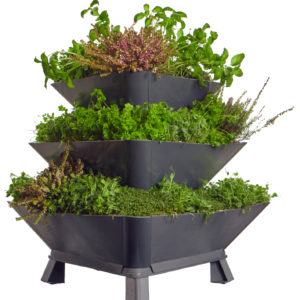 Plantepyramide i plast